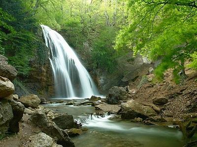 Водопад Джур-Джур - самый красивый водопад в Крыму Блог для души и тела