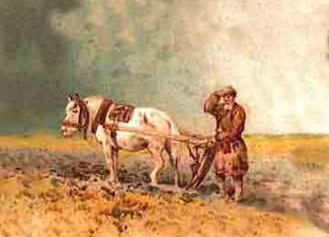Литовцы издавна занимались земледелием, жили деревенскою жизнью.  Земледелие, конечно, не стояло у литовцев на...